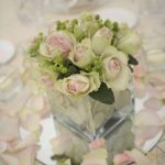 Bonnie nathan flower centerplace wedding tuscany