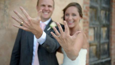 Bonny Nathan romantic wedding in Certaldo Tuscany