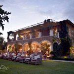 Emma robin reception venue their wedding in Borgo santo Pietro