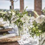 Megan Nicholas table flower setting wedding tuscany