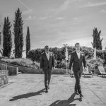 Nicholas wedding witnesses in Tuscany