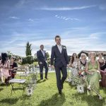 Groom suite for tuscan ceremony wedding