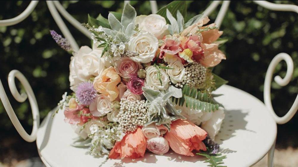 Flower bohemian style