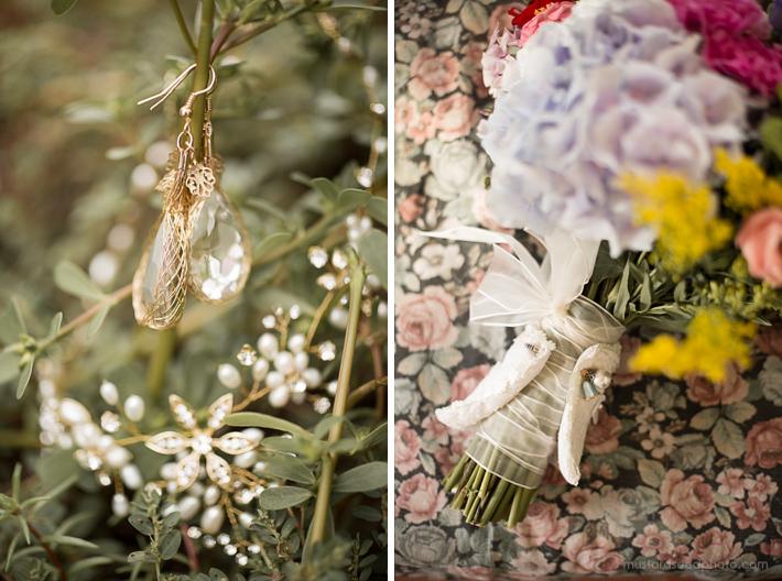 Flower wedding bohemian style