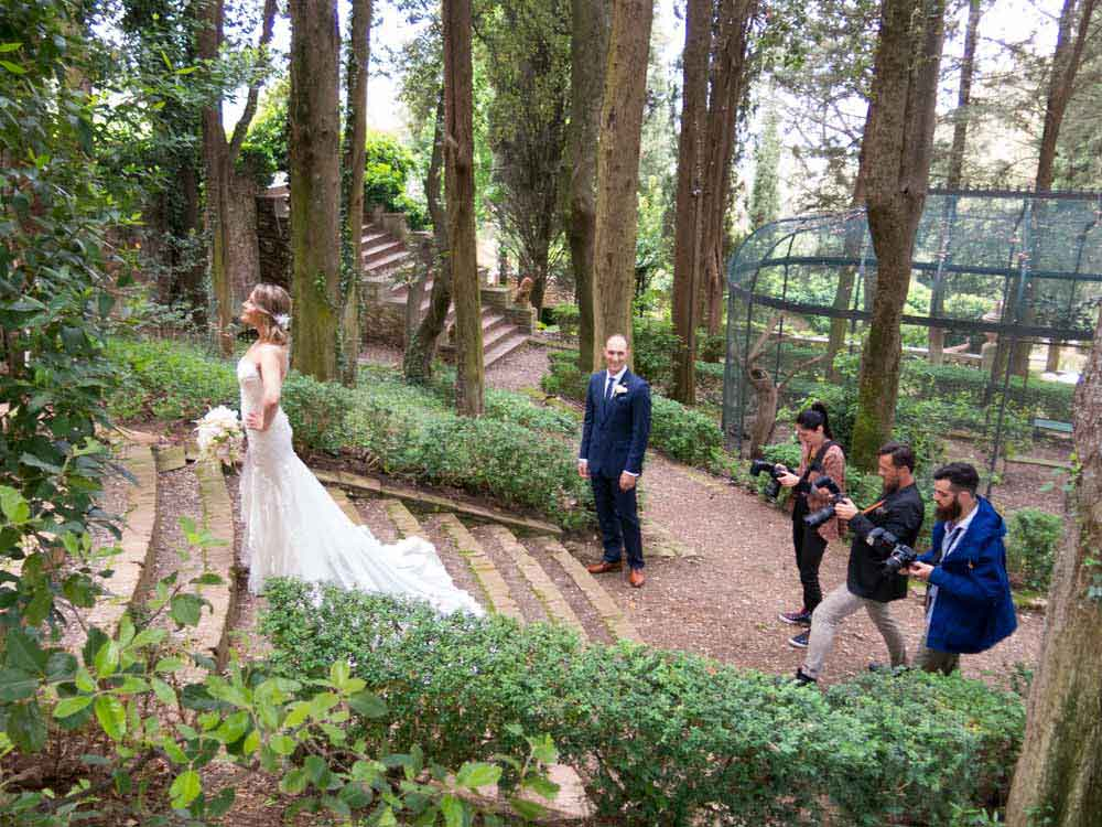 Photo services for wedding tuscany