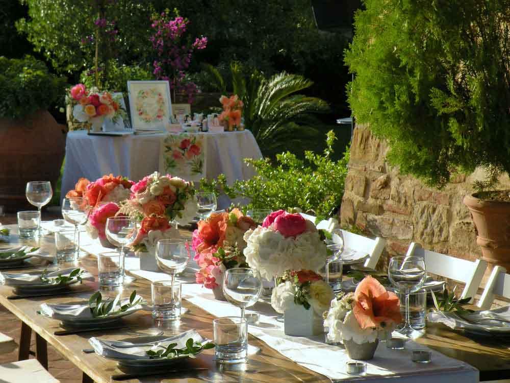 country style wedding tuscany