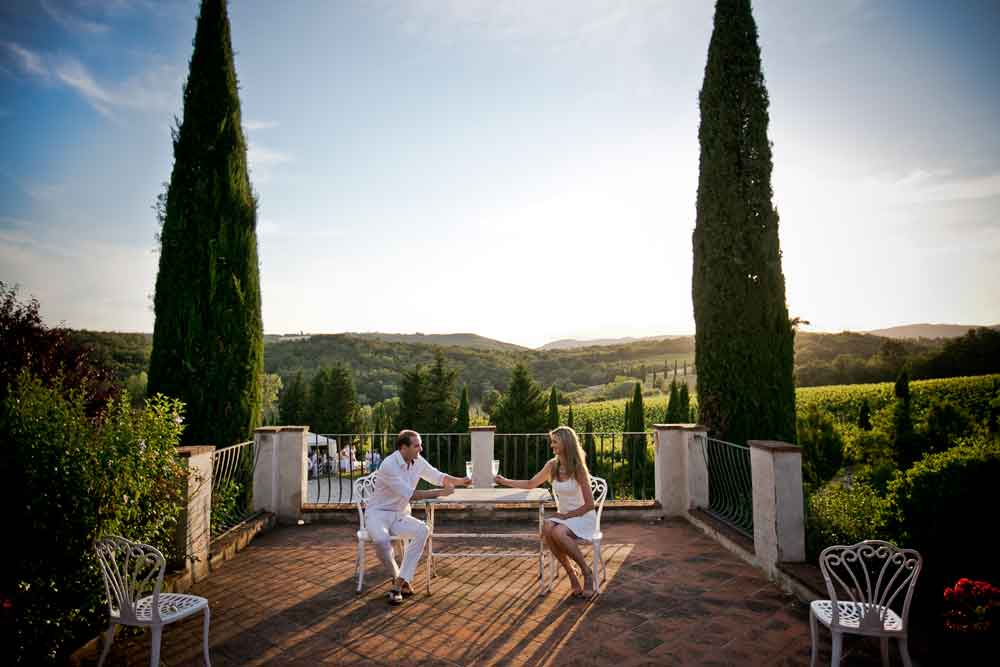 elopment wedding in Tuscan Country Villa