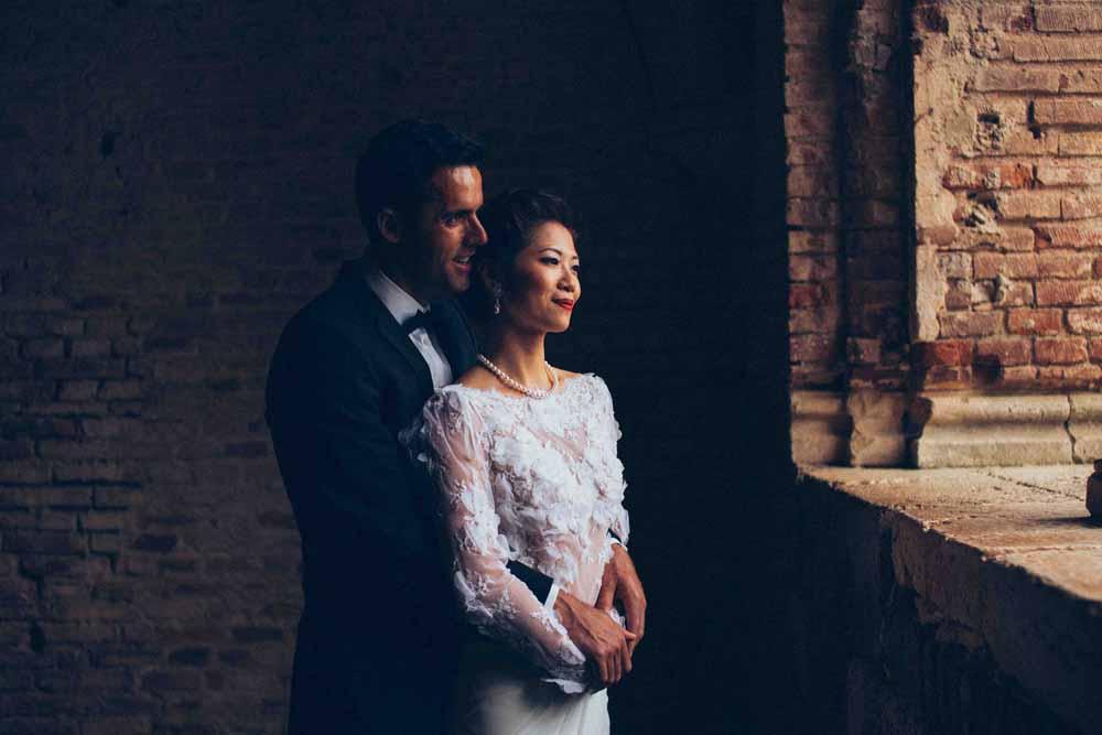 japanese elopment wedding tuscany