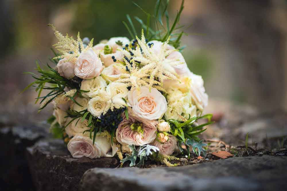 wedding tuscany boquet