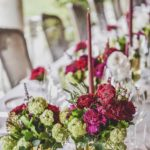 table setting wedding tuscany