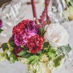 flower centerpiece for wedding