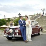 Fiona & Matt Classic Car for wedding