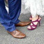 Bride and Groom shoes wedding in florence