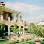 Romantic elopment in tuscany location