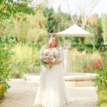 Romantic elopment in tuscany bride