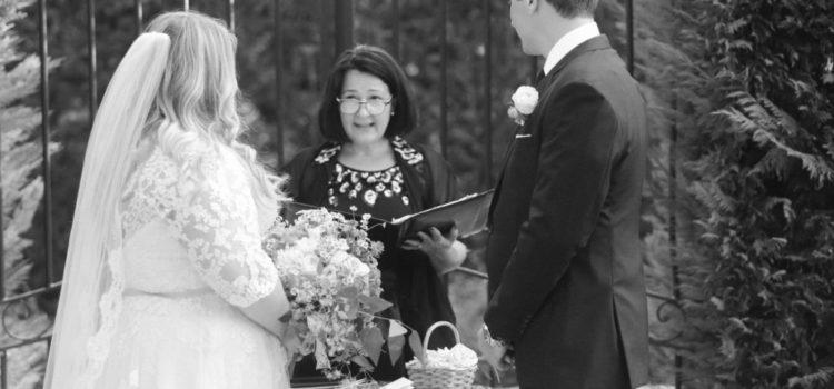 Romantic elopment in tuscany ceremony
