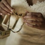 Bride details for wedding in tuscany at villa la foce