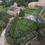Panoramic view villa la Foce wedding venues in Tuscany