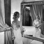 bride and mirror